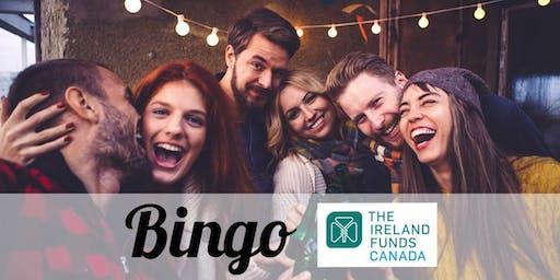 Bingo Fundraiser for Ireland Funds Of Canada