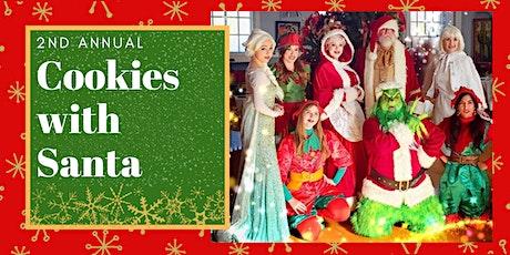 Dreams Come True Princess Parties Presents: Cookies with Santa tickets