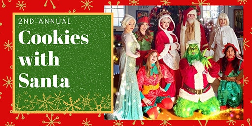 Dreams Come True Princess Parties Presents: Cookies with Santa