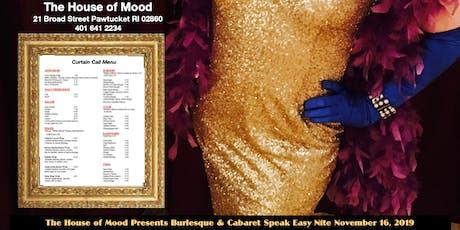 Burlesque & Cabaret  Speak Easy Nite tickets