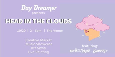 Head in the Clouds - Creative Market x Music Showcase x Art Swap tickets