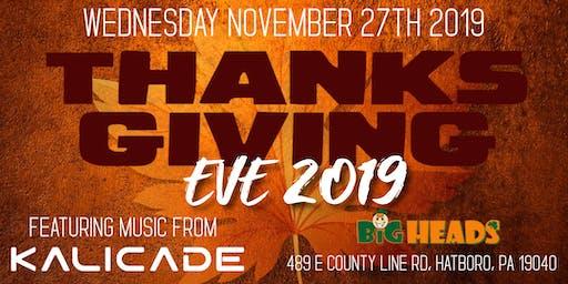 Kalicade Thanksgiving Eve Party