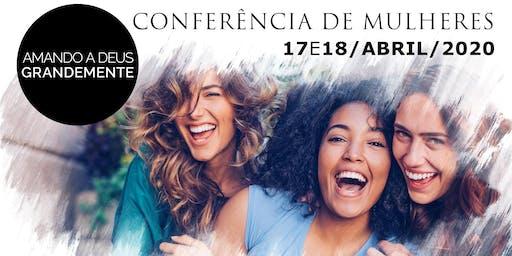Conferência de Mulheres Amando a Deus Grandemente
