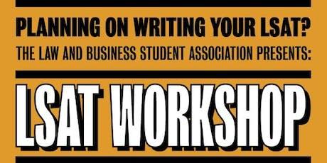 LSAT Preparation Workshop tickets