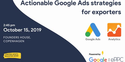 Actionable Google Ads strategies for exporters by Google & ePPC
