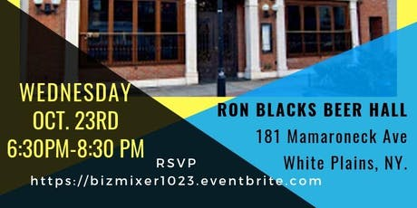 Combined Biz Networking Mixer White Plains & Stamford Chapters  tickets