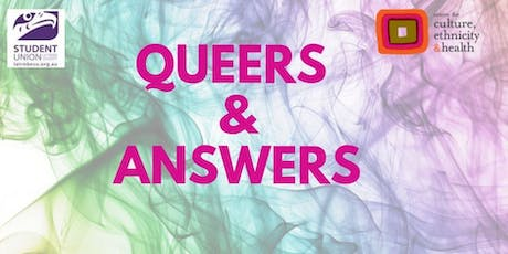 QUEERS & ANSWERS for LGBTIQA+, non-binary & gender diverse students tickets