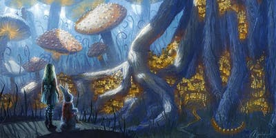 Alice in Wonderland FREE Art Event Oct 25-26th CO Springs