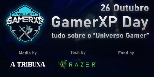 "GAMERXP DAY - INFO & CAMP ""Universo Gamer em Santos"""