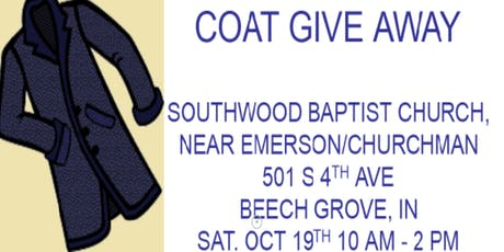 Coat Give-Away tickets
