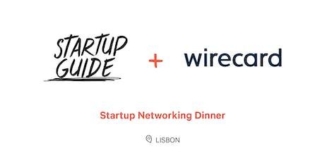 Startup Networking Dinner billets