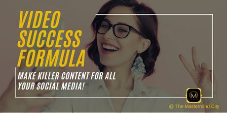 VIDEO SUCCESS FORMULA tickets