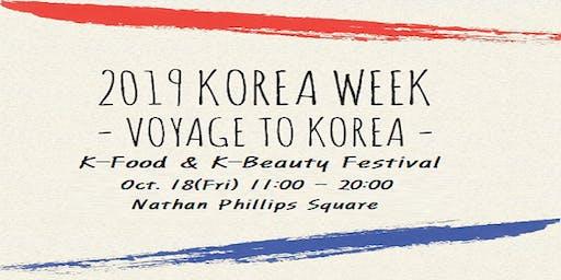 2019 KOREA WEEK (K-Food & K-Beauty Festival)