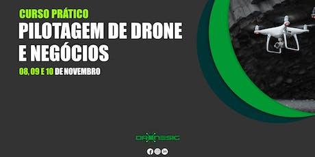 Curso de Pilotagem de Drones e Negócios bilhetes