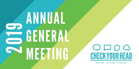 Check Your Head's 2019 Annual General Meeting tickets