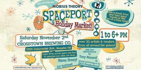 Mobius Theory Spaceport & Holiday Market tickets