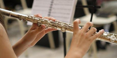 Instrumental Workshop Series: Flute with Kimberly Zaleski tickets