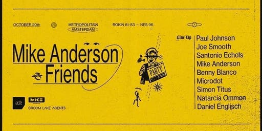 Mike Anderson & Friends - ADE 2019