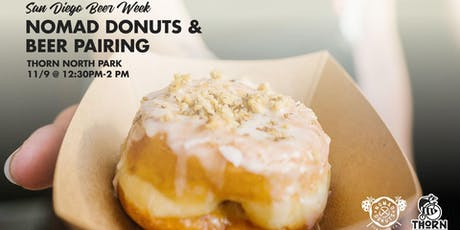 Nomad Donuts & Thorn Beer Pairing - SDBW 2019 tickets