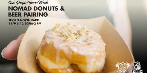 Nomad Donuts & Thorn Beer Pairing - SDBW 2019
