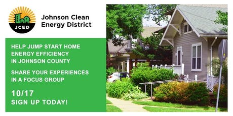 Focus Group - Johnson Clean Energy District tickets