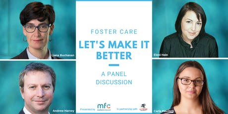Foster Care: Let's make it better - A panel discussion tickets