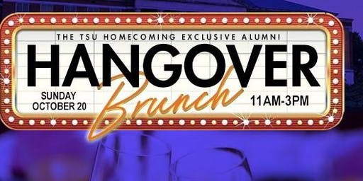 The TSU Homecoming Exclusive Alumni Hangover Brunch
