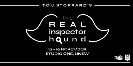 NUTS presents: The Real Inspector Hound tickets
