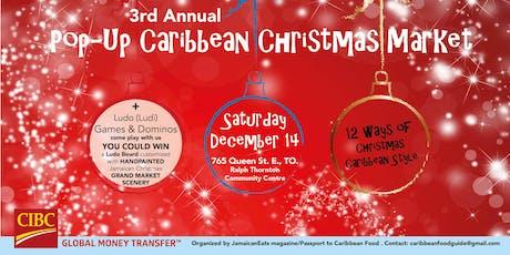 Pop-Up Caribbean Christmas Market tickets