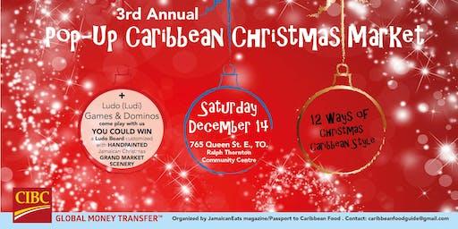 Pop-Up Caribbean Christmas Market