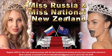 Miss Russia & Miss National NZ 2020 tickets