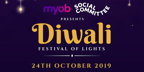 MYOB RICHMOND DIWALI CELEBRATIONS - 2019 tickets
