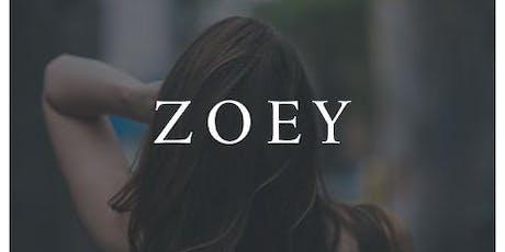 Zoey Film Premiere Fundraiser tickets