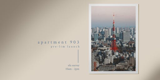 Pre-lim Launch: Apartment 903