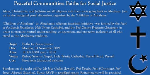 Peaceful Communities: Faiths for Social Justice