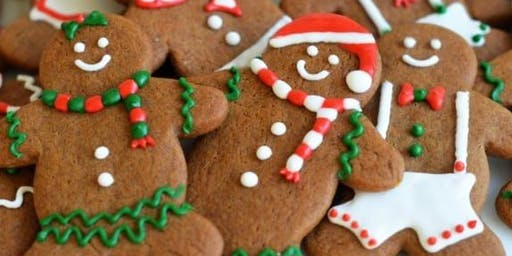 Family Christmas Gingerbread People Decorating Workshop