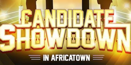 Candidate Showdown in Africatown Voter Forum tickets