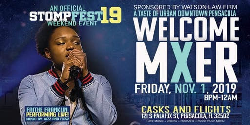 StompFest 2019 Welcome Mixer