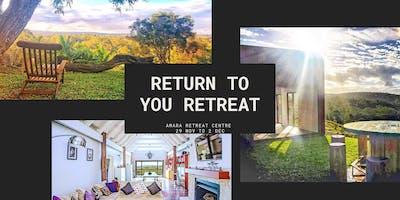 Return to You Retreat
