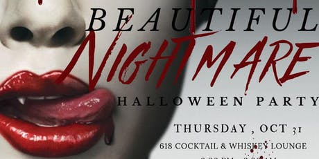 """BEAUTIFUL NIGHTMARE"" HALLOWEEN PARTY tickets"