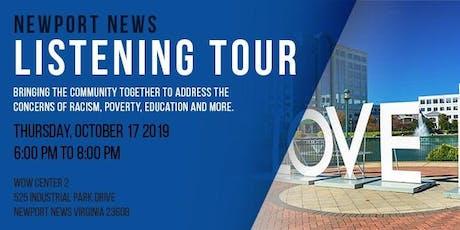 The Listening Tour Newport News tickets