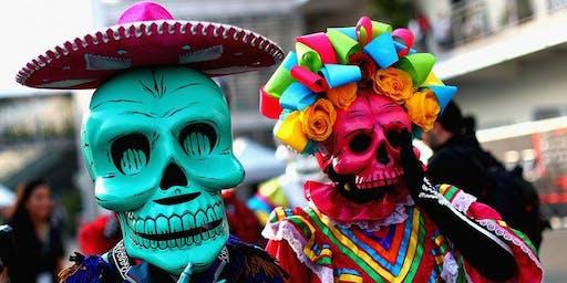 1 Nov : Day of the dead - Cumbia de los Muertos (Clapham North goes latin)