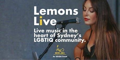 Lemons Live an SGLBA Event tickets