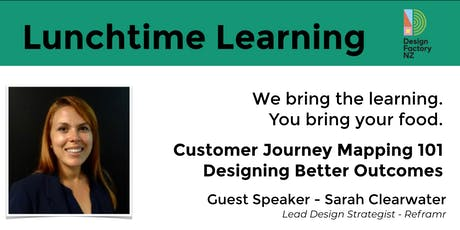Lunchtime Learning - Customer Journey Mapping 101 tickets