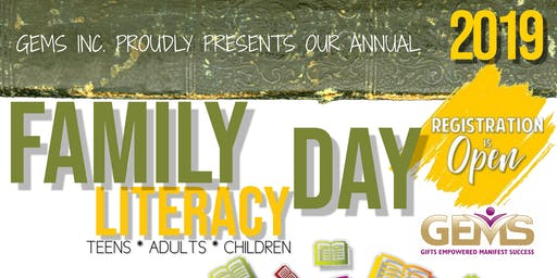 Bay Area Family Literacy Day hosted by GEMS Inc.