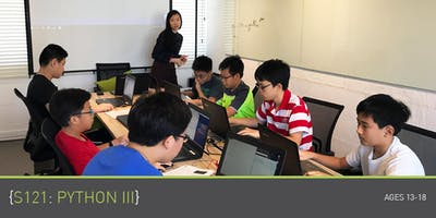 Coding for Teens - S121: Python 3 Course (Ages 13-18) @ Parkway Parade