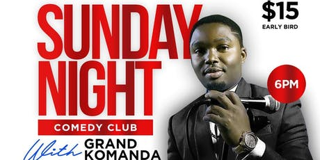 Sunday Night Comedy Club tickets