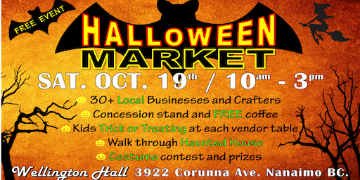 Halloween Market at Wellington Hall