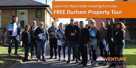 Durham Region Property Tour - Sep. 26th, 2019 tickets
