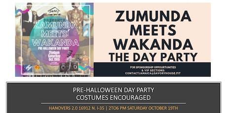 Zamunda Meets Wakanda The Day Party tickets